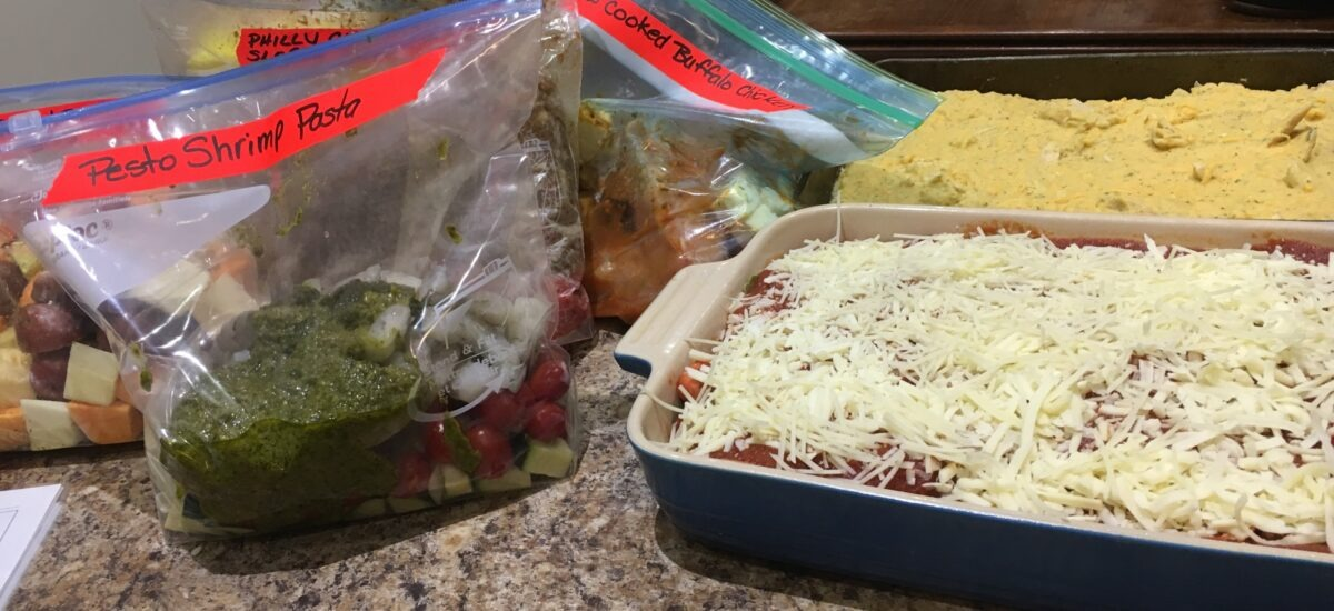 My first OFFICIAL 5 dinners 1 hour prep live stream!