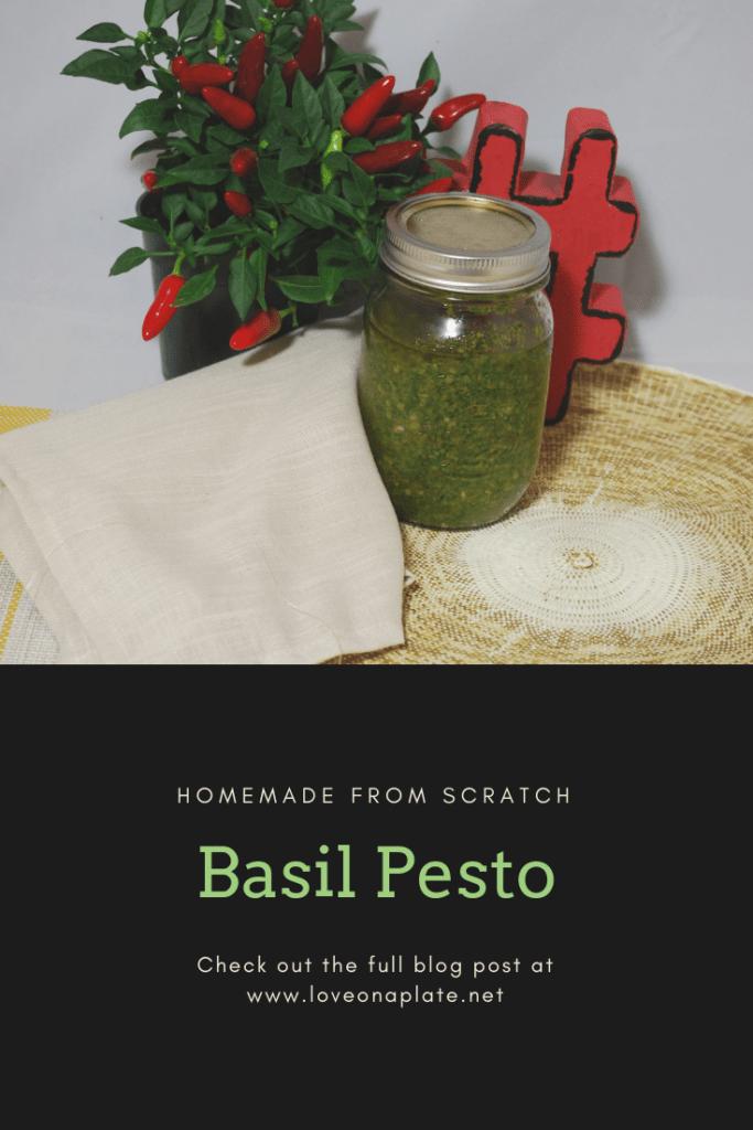 Classic Basil Pesto