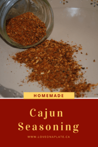 Cajun Seasoning Mix recipe