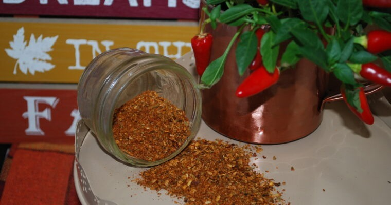 Cajun Seasoning Recipe; Homemade from Scratch