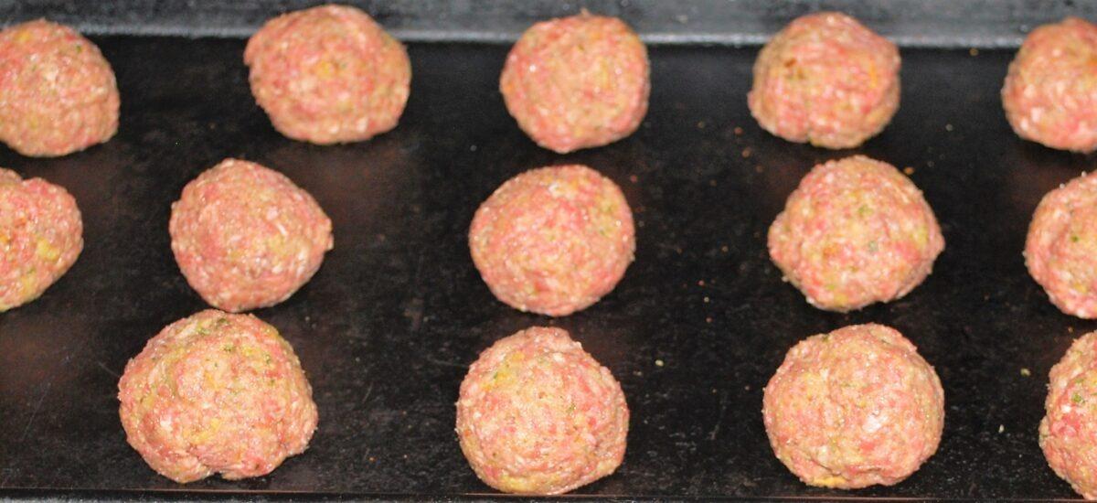 Freezer Friendly Meatballs; Homemade from Scratch