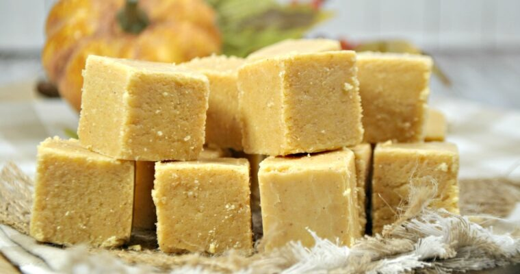 Sweet Taste of Fall; Pumpkin Spice Fudge