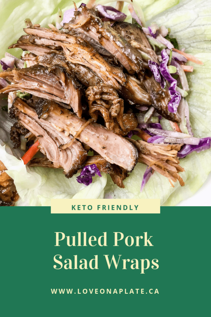 Pulled Pork Lettuce Wrap