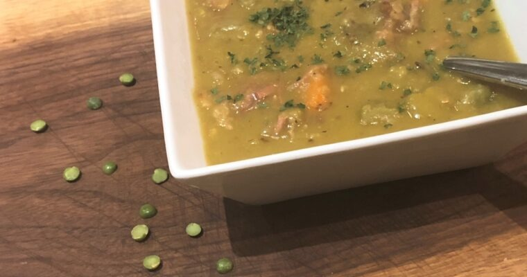 Instant Pot Split Pea with Ham Soup