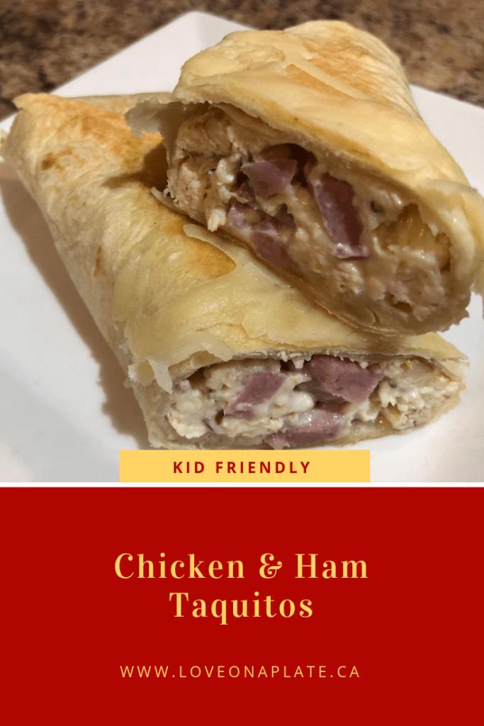 Chicken & Ham Taquitos