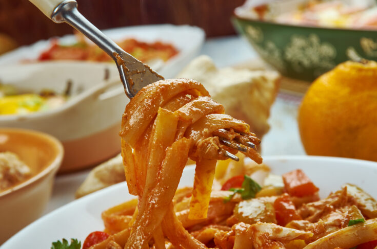 Crock Pot Creamy Cajun Chicken Pasta