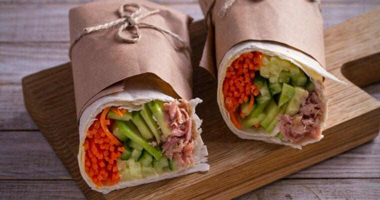 Spicy Tuna Wraps; a new Pick and Choose option