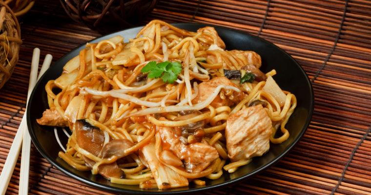 Instant Pot Honey Garlic Chicken Lo Mein; Skip the delivery