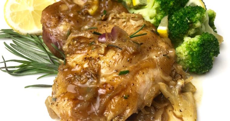 Instant Pot Lemon Olive Greek Chicken