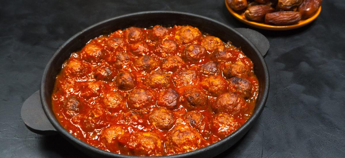 Moroccan Meatballs; Crockpot, Instant Pot, or Oven