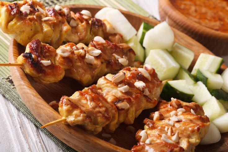 Sheet Pan Thai Chicken Dinner