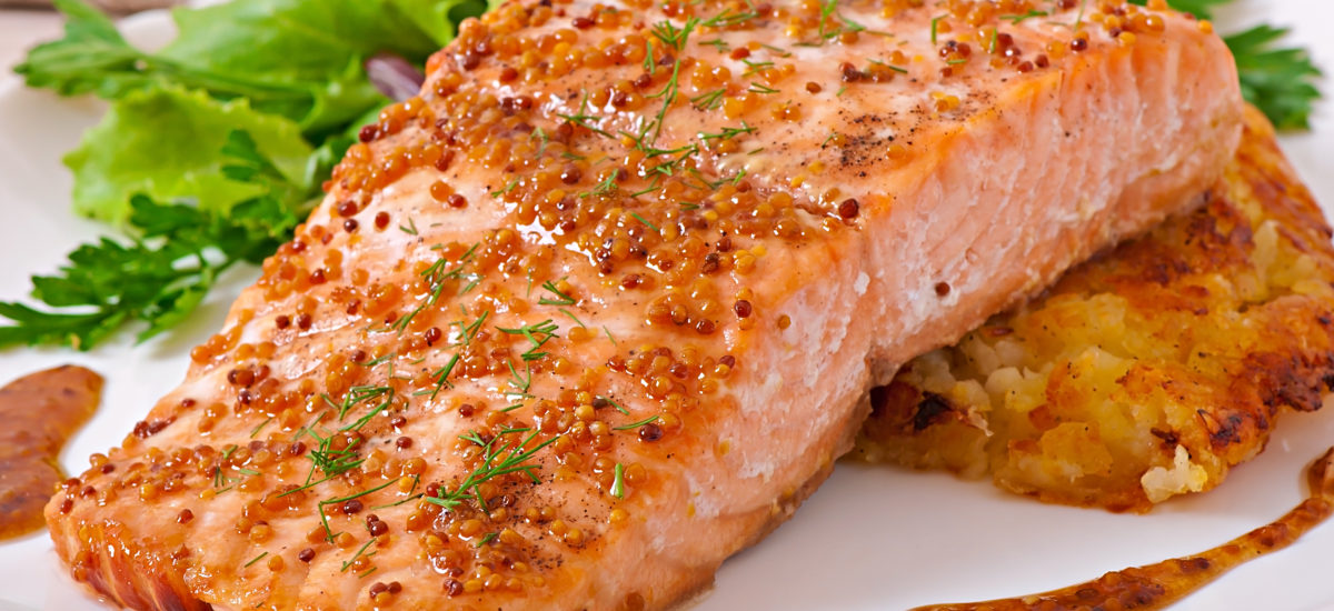 Maple Roasted Salmon