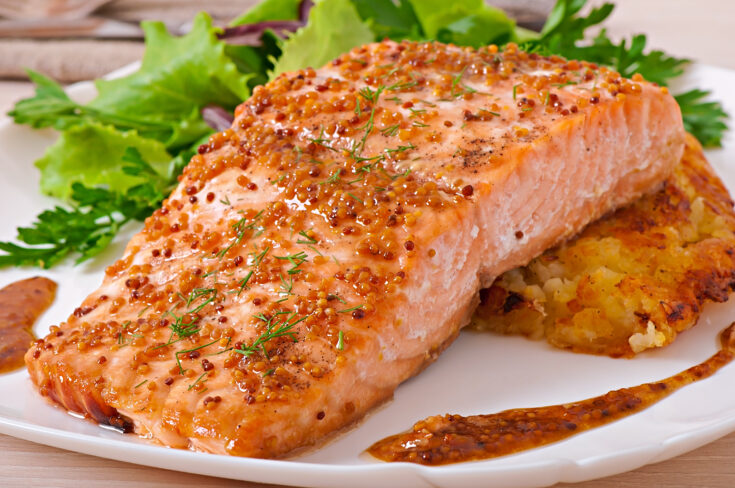 Maple Roasted Salmon
