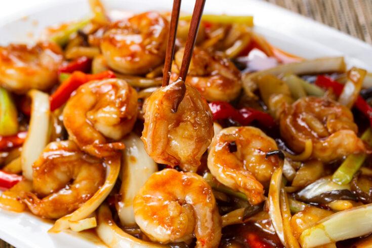 Shrimp Kung Pao; skip the take out