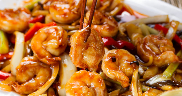 Shrimp Kung Pao; skip the take out