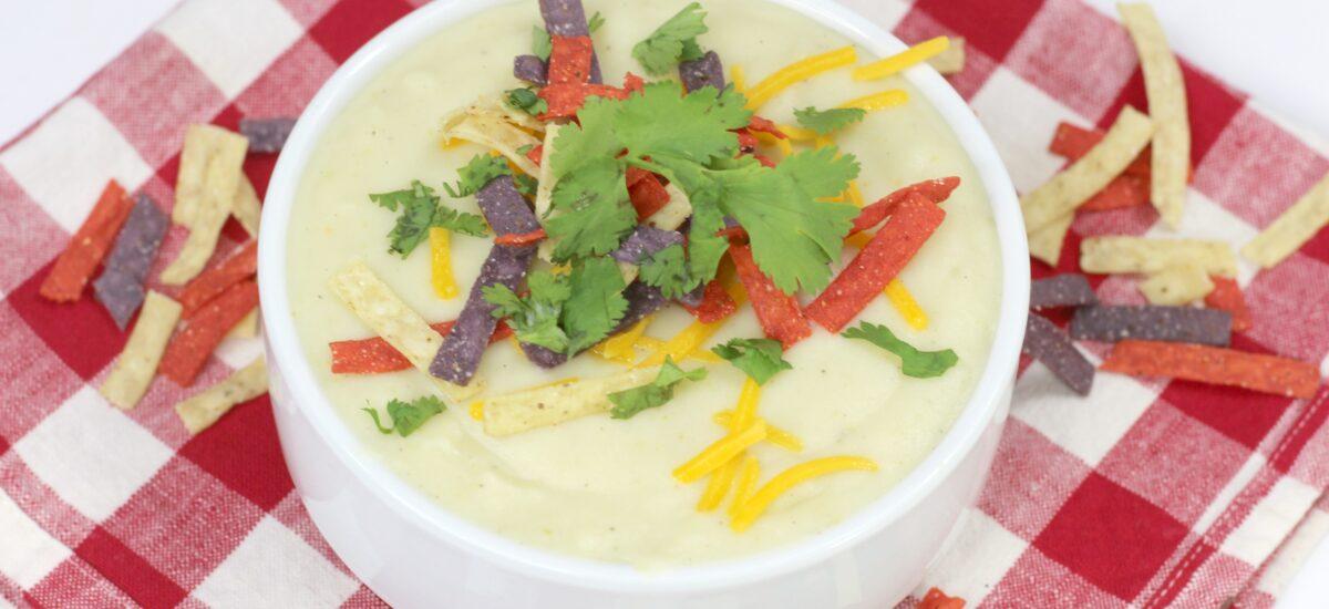 Instant Pot Cauliflower Green Chile Soup