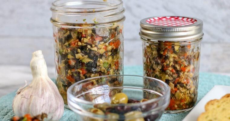 Muffaletta Olive Salad; make double!