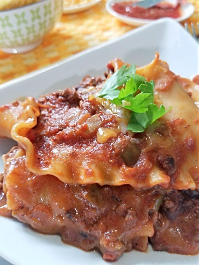 Instant Pot Lazy Taco Lasagna Love On A Plate Instant Pot