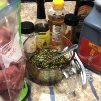 Combine Best Beef Marinade ingredients in a bowl and whisk to combine