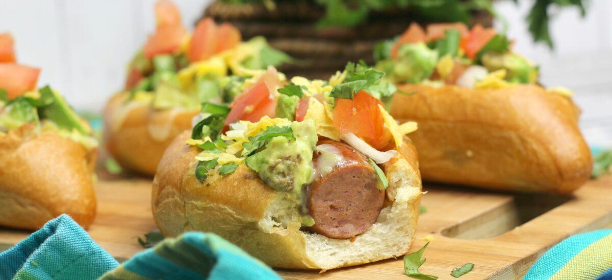 Nacho Hot Dogs; a unique twist