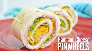 Ham and Cheese Pinwheels - A Kid-Pleasing Lunch!