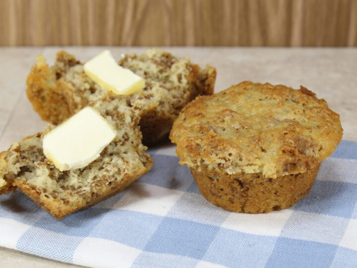 Baked Refrigerator Bran Muffins