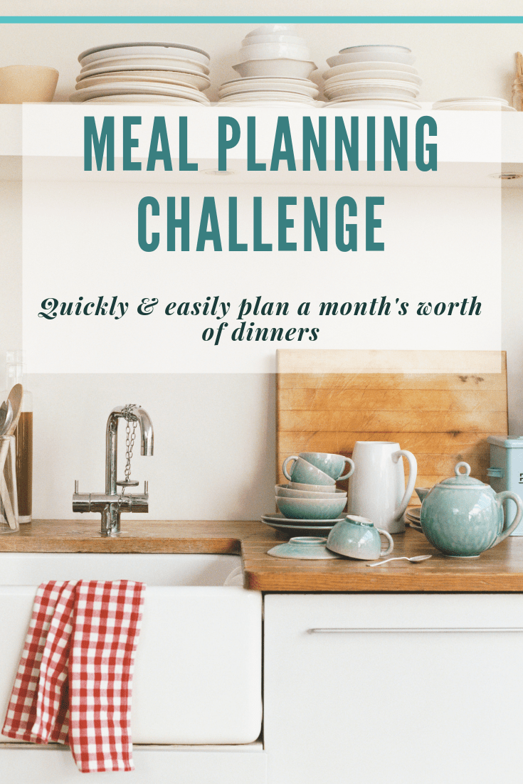 30 day meal plan challenge image