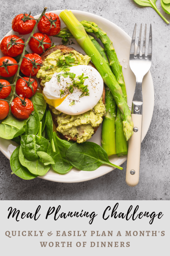 30 Day Meal Planning Challenge with Love on a Plate