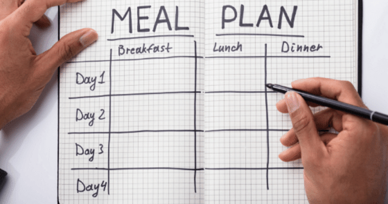 30 Day Meal Planning Challenge Printables
