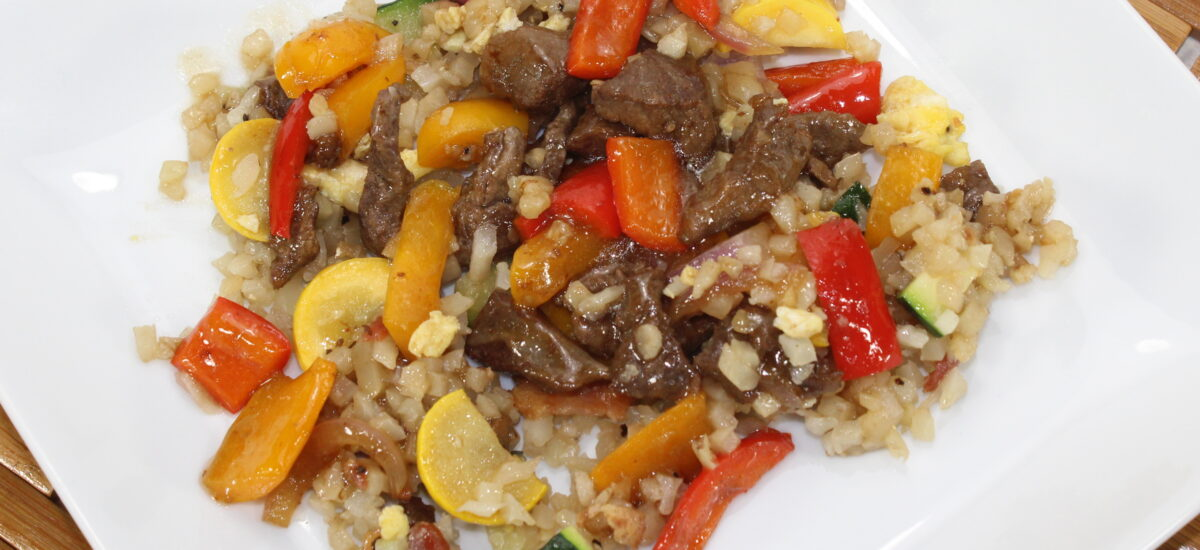 Stir Fry Pepper Steak