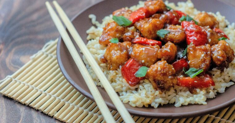 General Tso's Chicken; Take out Fake Out