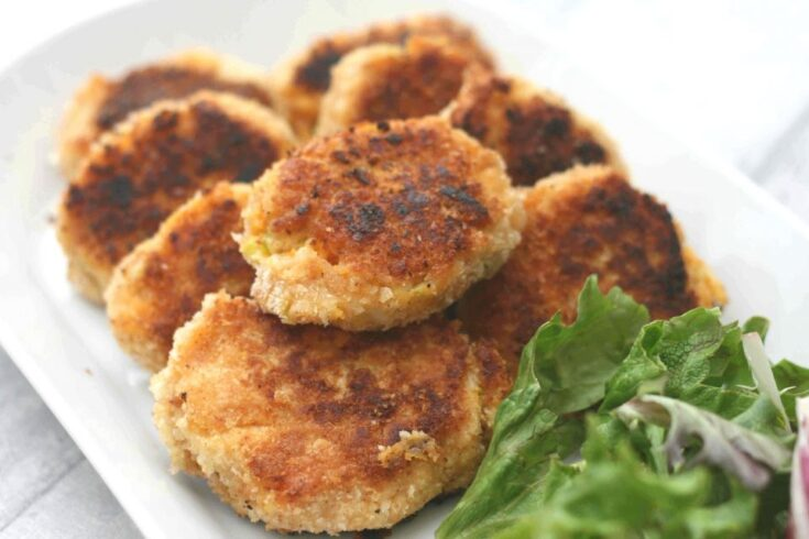 Sweet potato fish cakes