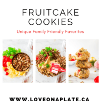 Fruitcake Cookie pin, with 3 process photos