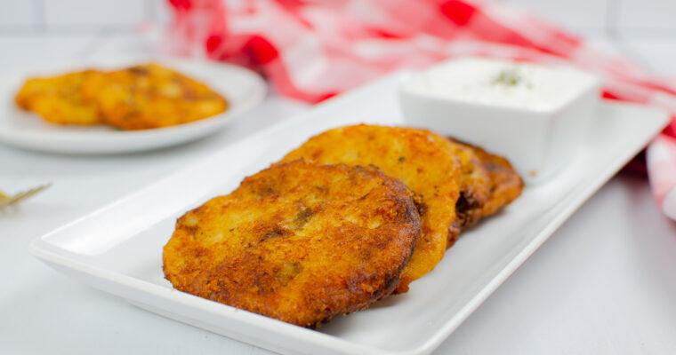 Easy Cheesy Mashed Potato Patties