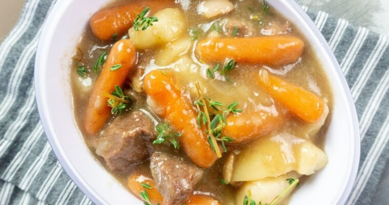 Instant Pot Beef Stew with Guinness